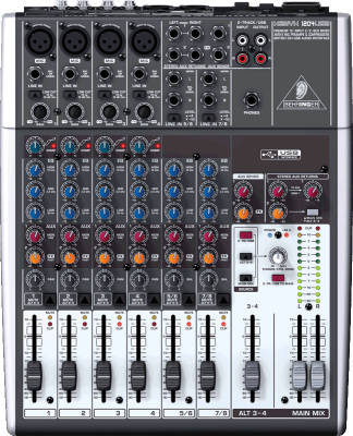 Xenyx 12 Input 2/2 Bus Mixer with USB