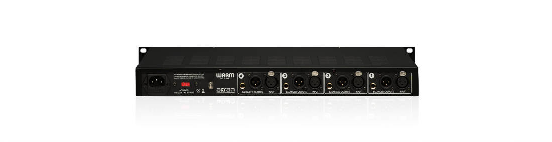 WA-412 Classic 4-Channel 312 Style Mic Preamp