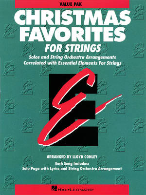 Essential Elements Christmas Favorites for Strings - Conley - Value Pack