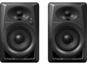 Pioneer - DM-40 4-inch Active Desktop Monitors (Pair) - Black