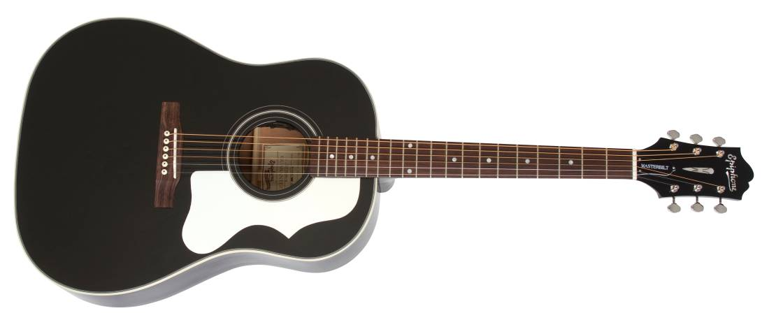 epiphone j 45me limited ediiton masterbilt mahogany acoustic electric guitar ebony long. Black Bedroom Furniture Sets. Home Design Ideas