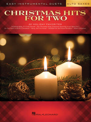 Christmas Hits for Two - Alto Sax Duets - Book