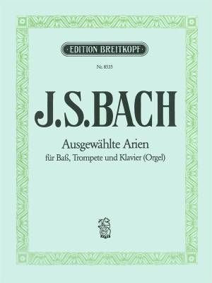 Selected Arias from Cantatas - Bach/Winkler - Bass Voice/Trumpet/Piano(Organ)