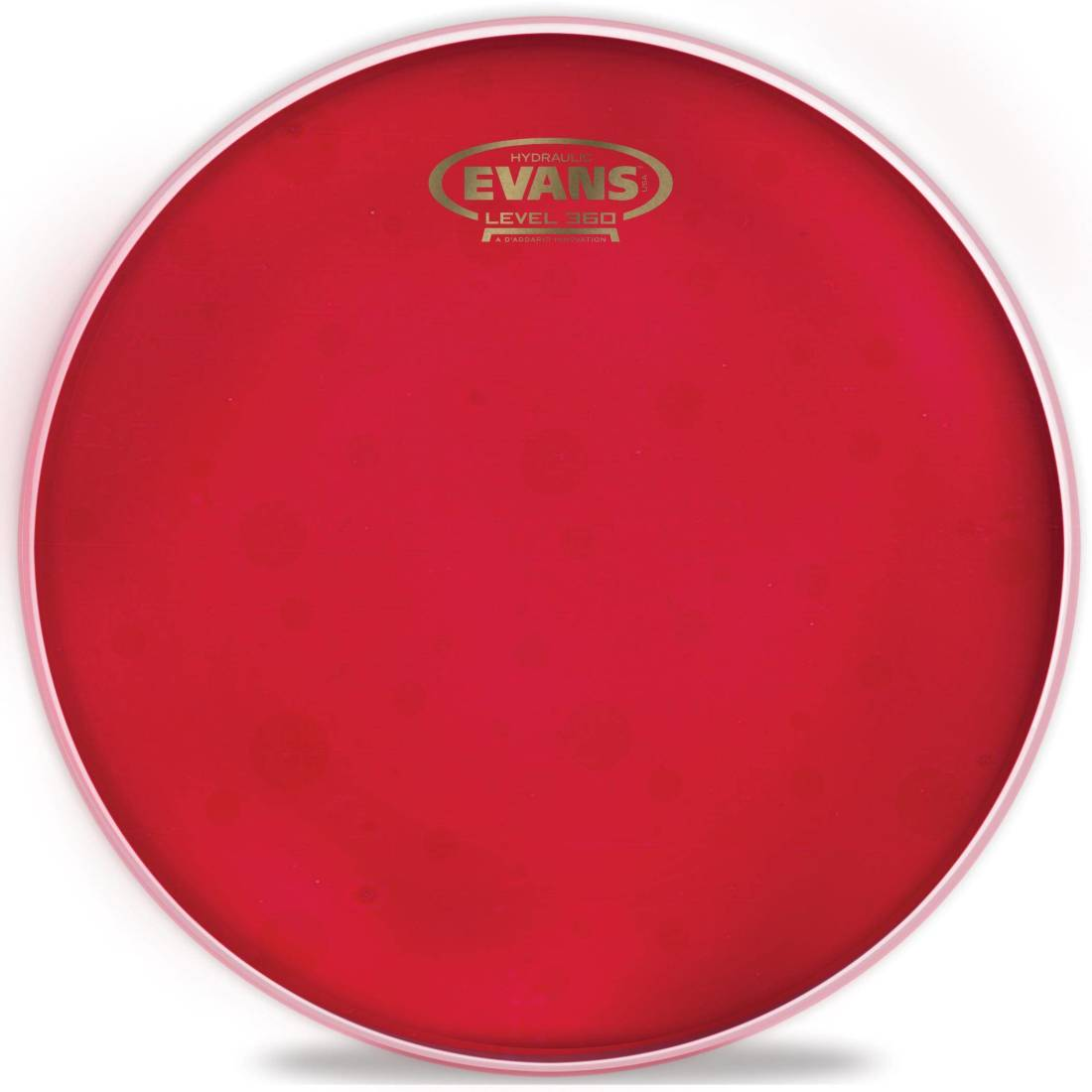 evans hydraulic red drum head 12 inch long mcquade musical instruments. Black Bedroom Furniture Sets. Home Design Ideas