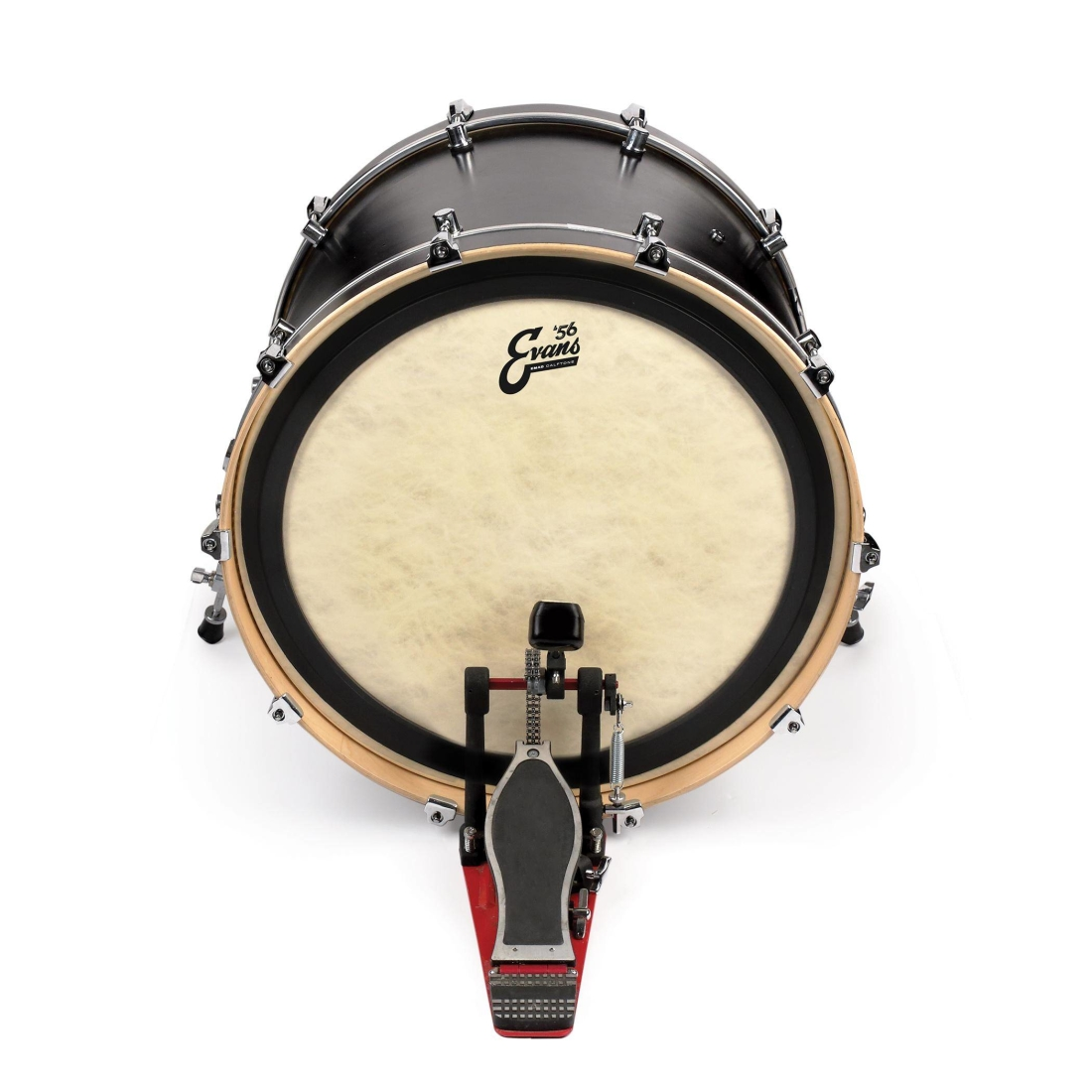 evans emad calftone bass drum head 22 inch long mcquade musical instruments. Black Bedroom Furniture Sets. Home Design Ideas