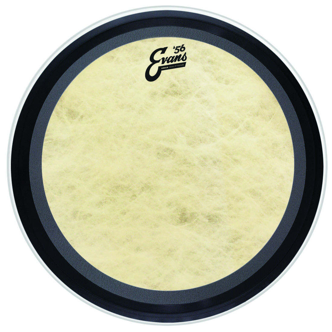 evans emad calftone bass drum head 16 inch long mcquade musical instruments. Black Bedroom Furniture Sets. Home Design Ideas