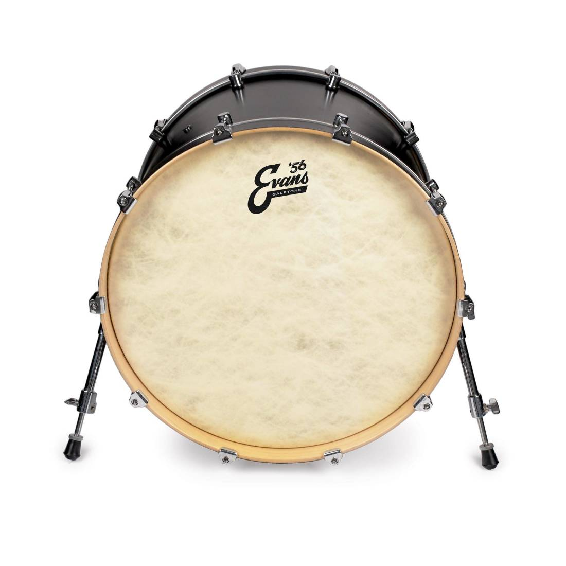 evans calftone tom hoop drum head 16 inch long mcquade musical instruments. Black Bedroom Furniture Sets. Home Design Ideas