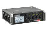 Zoom - F4 Multitrack Field Recorder with Timecode - 6 Inputs, 8 Tracks