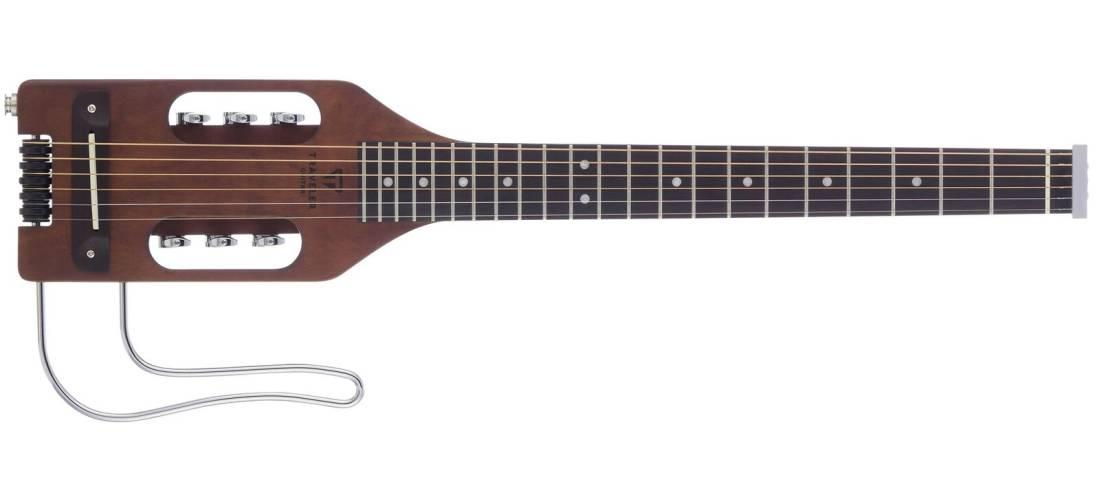 traveler guitar ultra light acoustic travel guitar w steel strings antique brown w gig bag. Black Bedroom Furniture Sets. Home Design Ideas