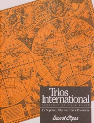 Trios International - Clark - Soprano/Alto/Tenor Recorders - Book