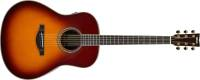 Yamaha - TransAcoustic Original Jumbo Guitar - Brown Sunburst