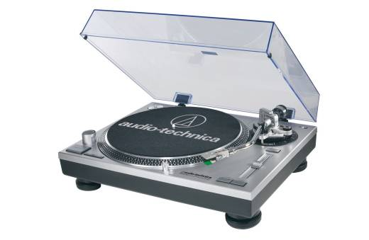 Direct-Drive Quartz Turntable w/USB - Black