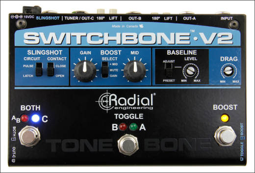 Switchbone V2 ABY/C Amp Selector and Booster