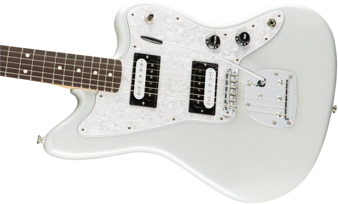 fender special edition jazzmaster hh rosewood fingerboard white opal long mcquade musical. Black Bedroom Furniture Sets. Home Design Ideas