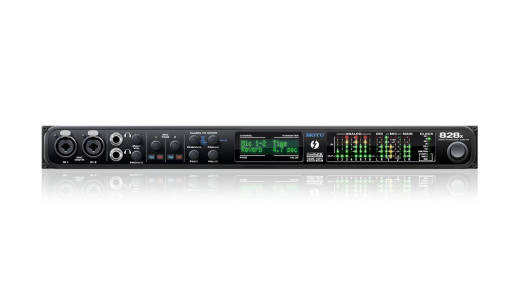 828X - 24/192 28-in, 30-out Thunderbolt/USB 2.0 Audio Interface