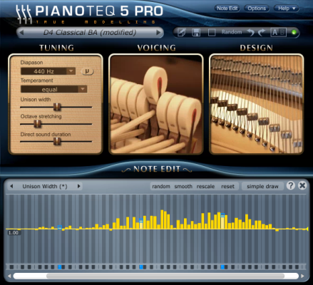 Pianoteq 5 Pro Upgrade from Standard  - Download