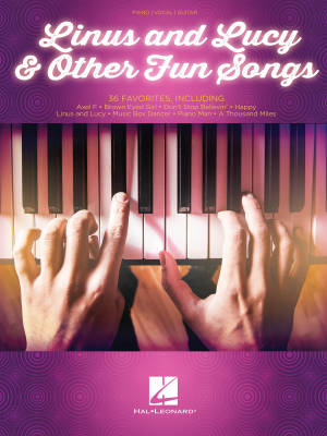 Hal Leonard Linus And Lucy Other Fun Songs Pianovocalguitar