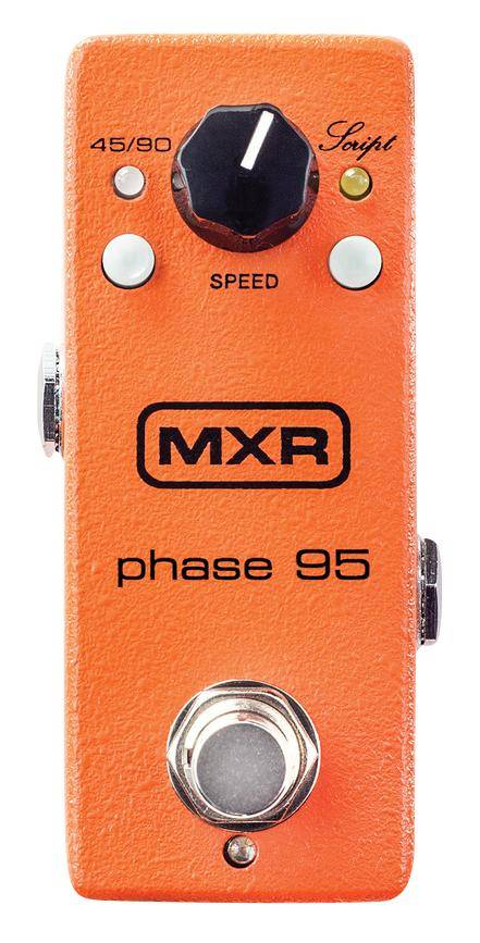 Phaser New Dunlop MXR M290 Phase 95 Mini Guitar Effects Pedal