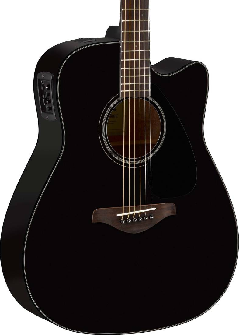 Yamaha fgx800c solid spruce top dreadnought acoustic for Yamaha solid top