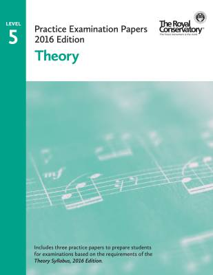 Practice Examination Papers 2016 Edition: Level 5 Theory - Book