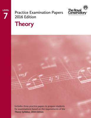 Practice Examination Papers 2016 Edition: Level 7 Theory - Book