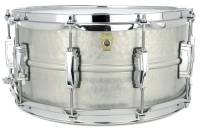 Ludwig Drums - Acrophonic 14x6.5 Snare Drum -  Hammered Aluminum