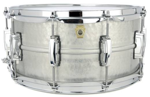 Acrophonic 14x6.5'' Snare Drum -  Hammered Aluminum