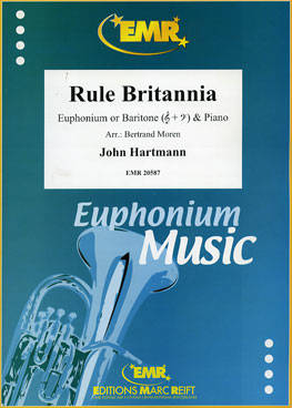 Rule Britannia - Hartmann/Moren - Euphonium or Baritone/Piano - Sheet Music