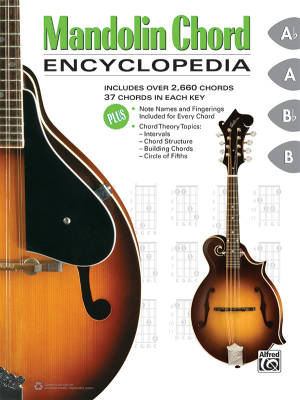 Mandolin Chord Encyclopedia - Gunod/Harnsberger/Manus - Book