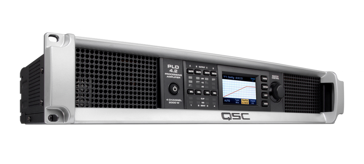 PLD4 2 4-Channel Amp with Display - 400W 8 Ohms