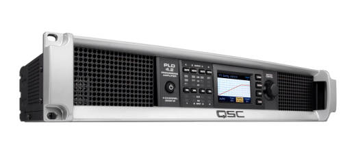 PLD4.2 4-Channel Amp with Display - 400W 8 Ohms