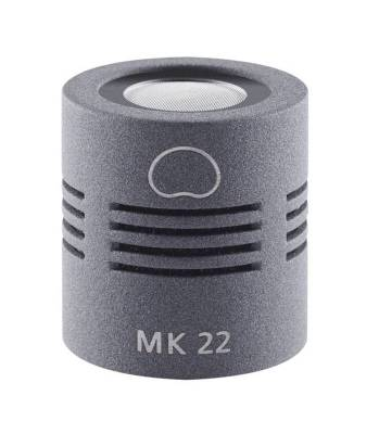 MK 22 Open Cardioid Microphone Capsule - Matte Gray