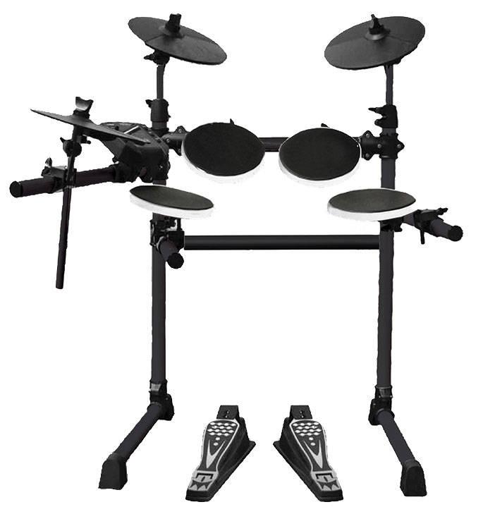 Univox 5 piece electronic drum set long mcquade for Yamaha dtx450k 5 piece electronic drum kit