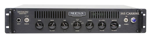 M6 Carbine 600w Bass Head - Rack Mounted