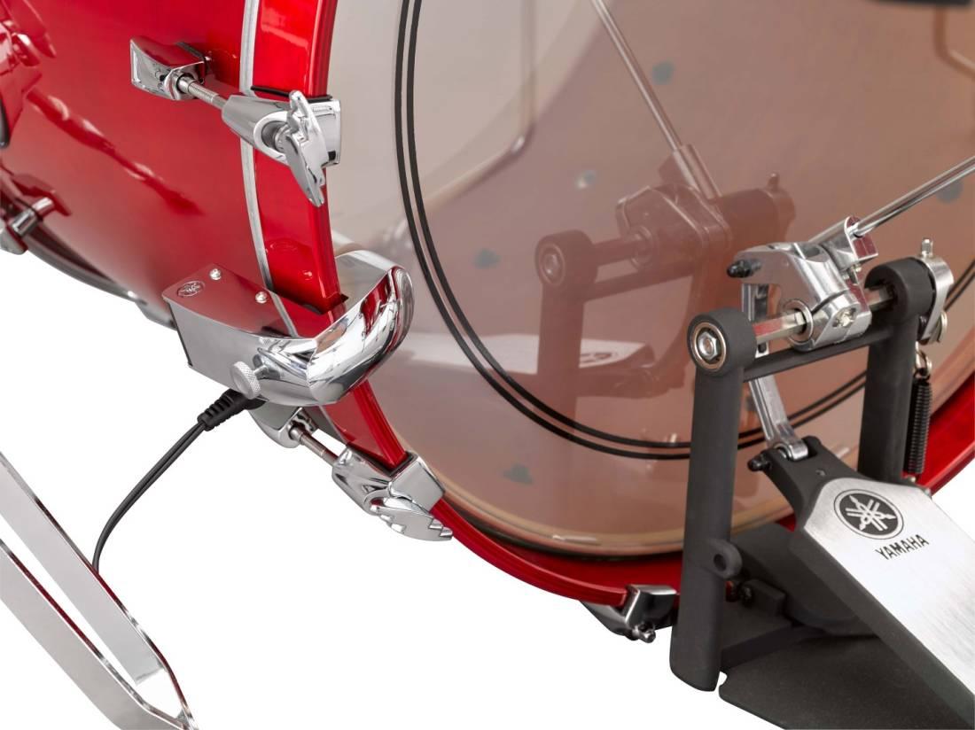 yamaha dt50k single sensor bass drum trigger long mcquade musical instruments. Black Bedroom Furniture Sets. Home Design Ideas