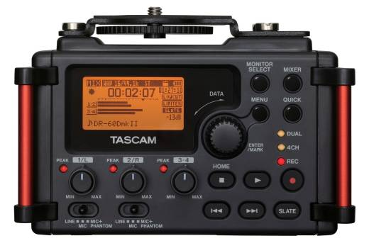 4-Channel Portable Recorder for DSLR Filmmakers