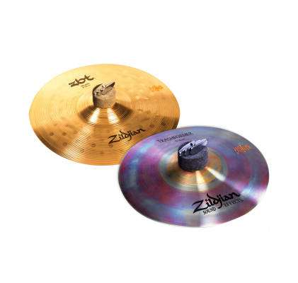 Long and McQuade Exclusive 10'' ZBT Splash & 10'' Trashformer Cymbal Set