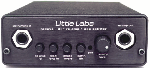 little labs redeye passive direct reamp box long mcquade musical instruments. Black Bedroom Furniture Sets. Home Design Ideas