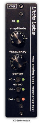 VOG - Analog Bass Resonance Tool