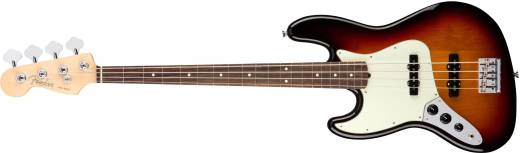 American Professional Jazz Bass Left-Handed Rosewood Fingerboard - 3-Colour Sunburst