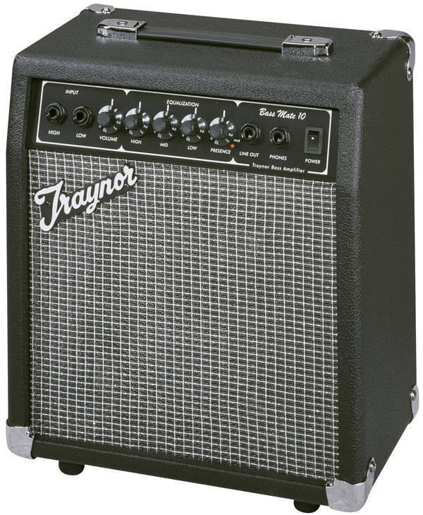 traynor bassmate 10 watt bass practice amp long mcquade musical instruments. Black Bedroom Furniture Sets. Home Design Ideas