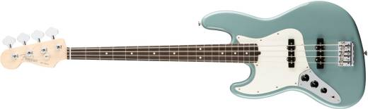 American Professional Jazz Bass Left-Handed Rosewood Fingerboard - Sonic Gray