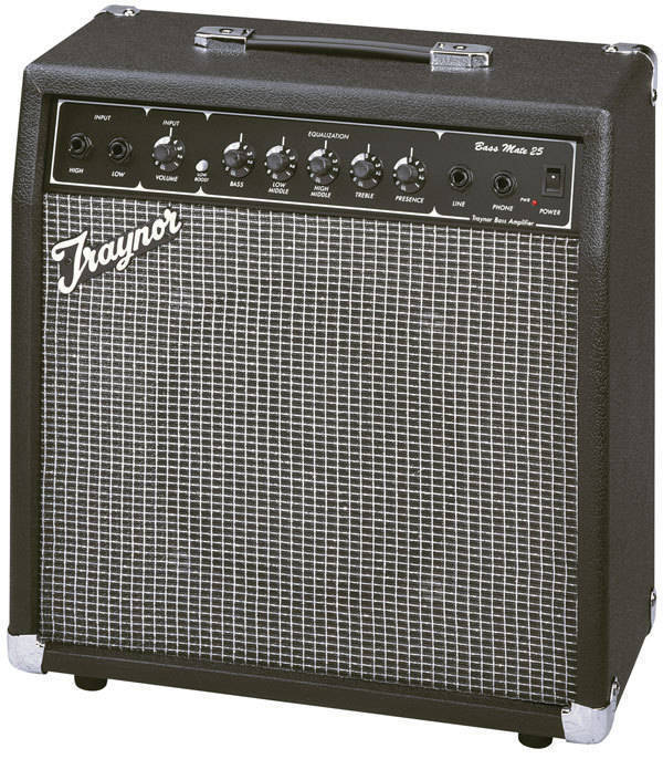 traynor bassmate 25 watt bass practice amp long mcquade musical instruments. Black Bedroom Furniture Sets. Home Design Ideas