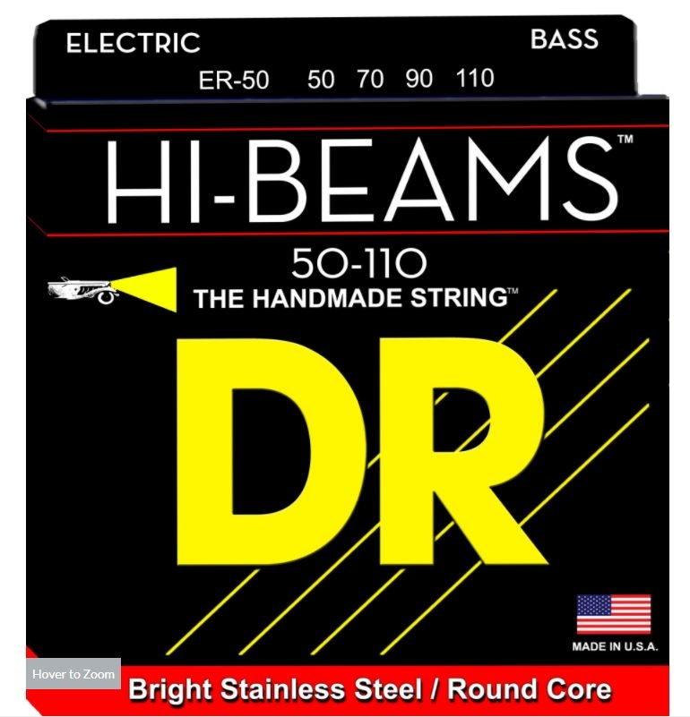 Bass Strings 50 110 : dr strings hi beam heavy bass strings 50 110 long mcquade musical instruments ~ Vivirlamusica.com Haus und Dekorationen