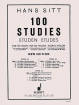 Eulenburg - 100 Studies, Op. 32 - Book 1: 20 Studies in the First Position - Sitt - Violin - Book