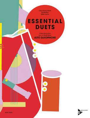 Essential Duets: 8 Easy Duets from Jazz to World Music - Curtis/Harlow/Koch - Alto Saxophone Duets - Book