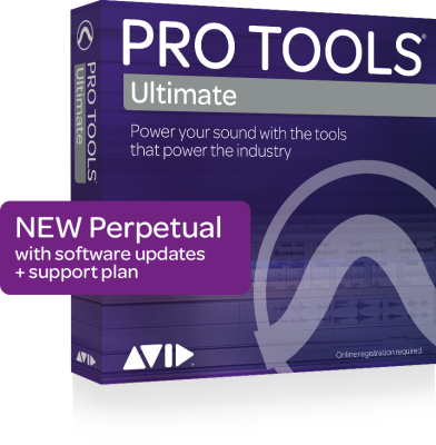 Pro Tools Ultimate with 1-Year Software Updates & Support Plan - Perpetual License (Boxed)