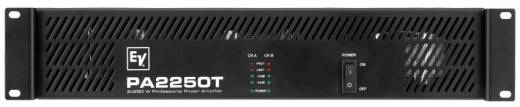 PA2250t Dual 250 W Per Channel Power Amplifier