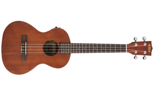 Satin Mahogany Tenor Ukulele with Electronics