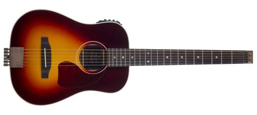 AG-450EQ Acoustic-Electric Travel Guitar - Sunburst w/ Gig Bag